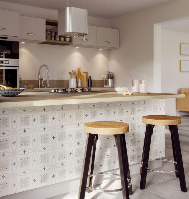 papier peint chambre cuisine des mod les tendance pour chaque pi ce papier peint vinyle. Black Bedroom Furniture Sets. Home Design Ideas