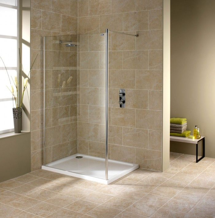 Voorbeelden van badkamertegels badkamertegels voorbeelden inloopdouche urban van duscholux - Badkamer foto met douche ...