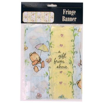 Baby Banner: A Gift From Above. Bulk Wholesale Baby Shower Supplies. Banner  For