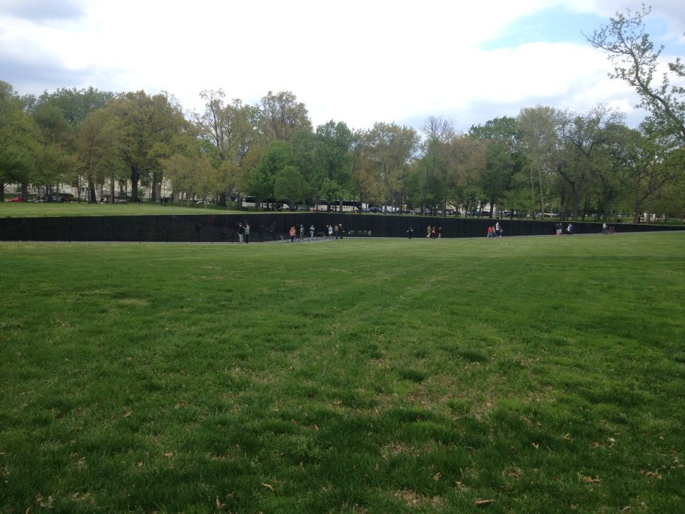 Vietnam Wall Memorial Was Designed By Maya Ying Lin. | Washington