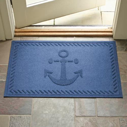 Best Beaupre Anchor 36 In X 24 In Non Slip Outdoor Door Mat 640 x 480