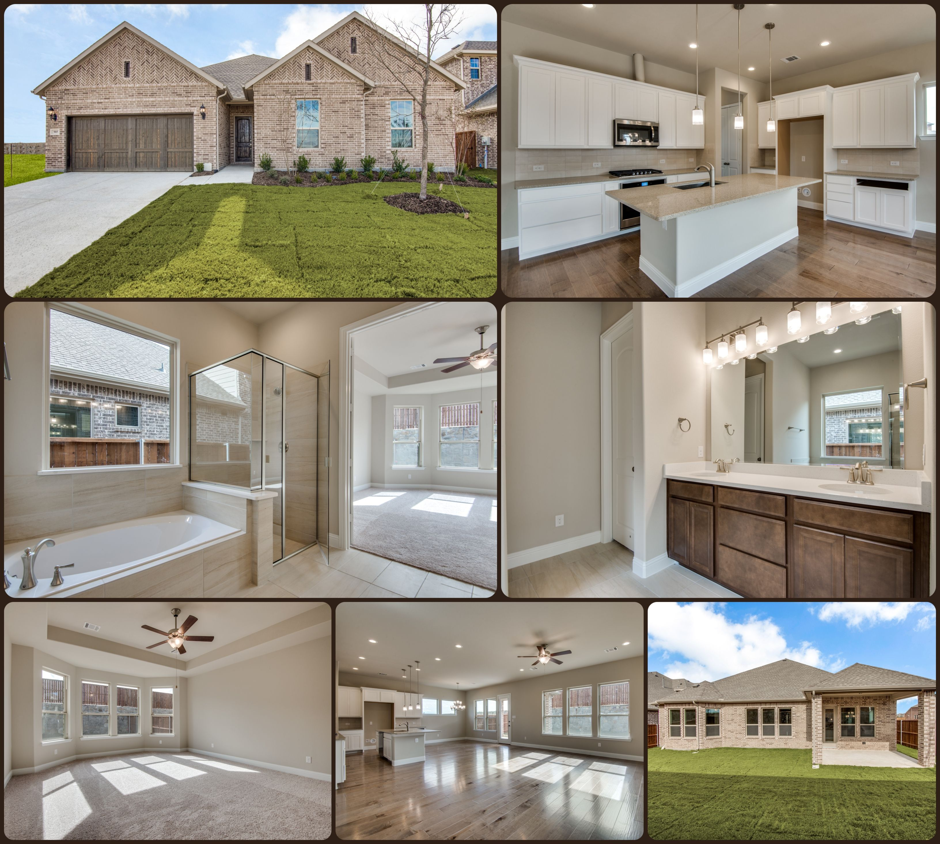 Seville plan in celina tx at our bluewood community