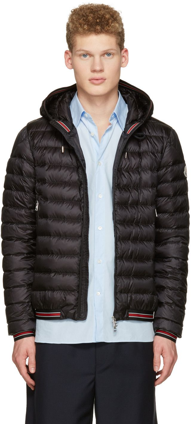 MONCLER Black Down Eliot Jacket. moncler cloth jacket