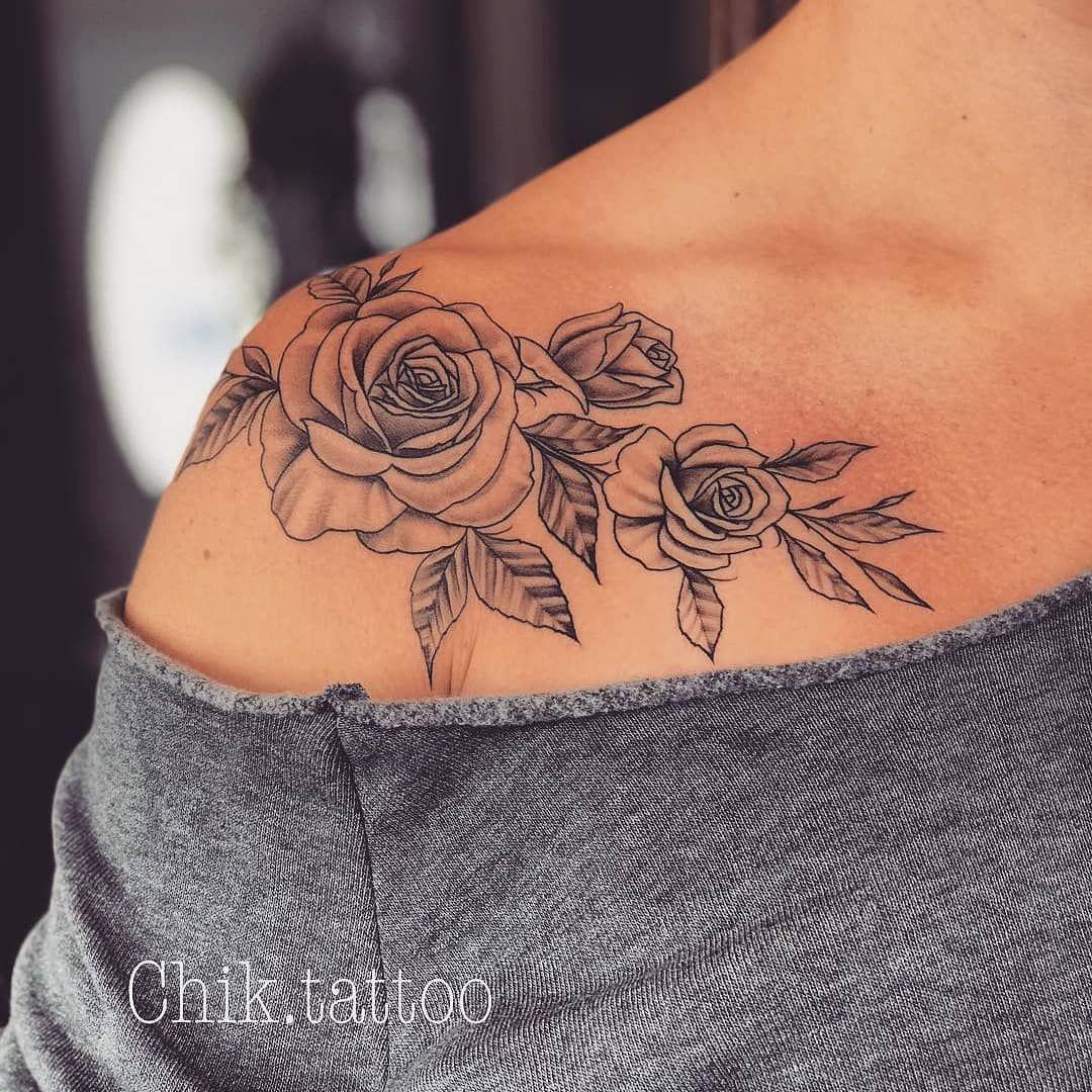 Inspiratie Uitbreiding Schouder Naar Sleutelbeen Tattoos