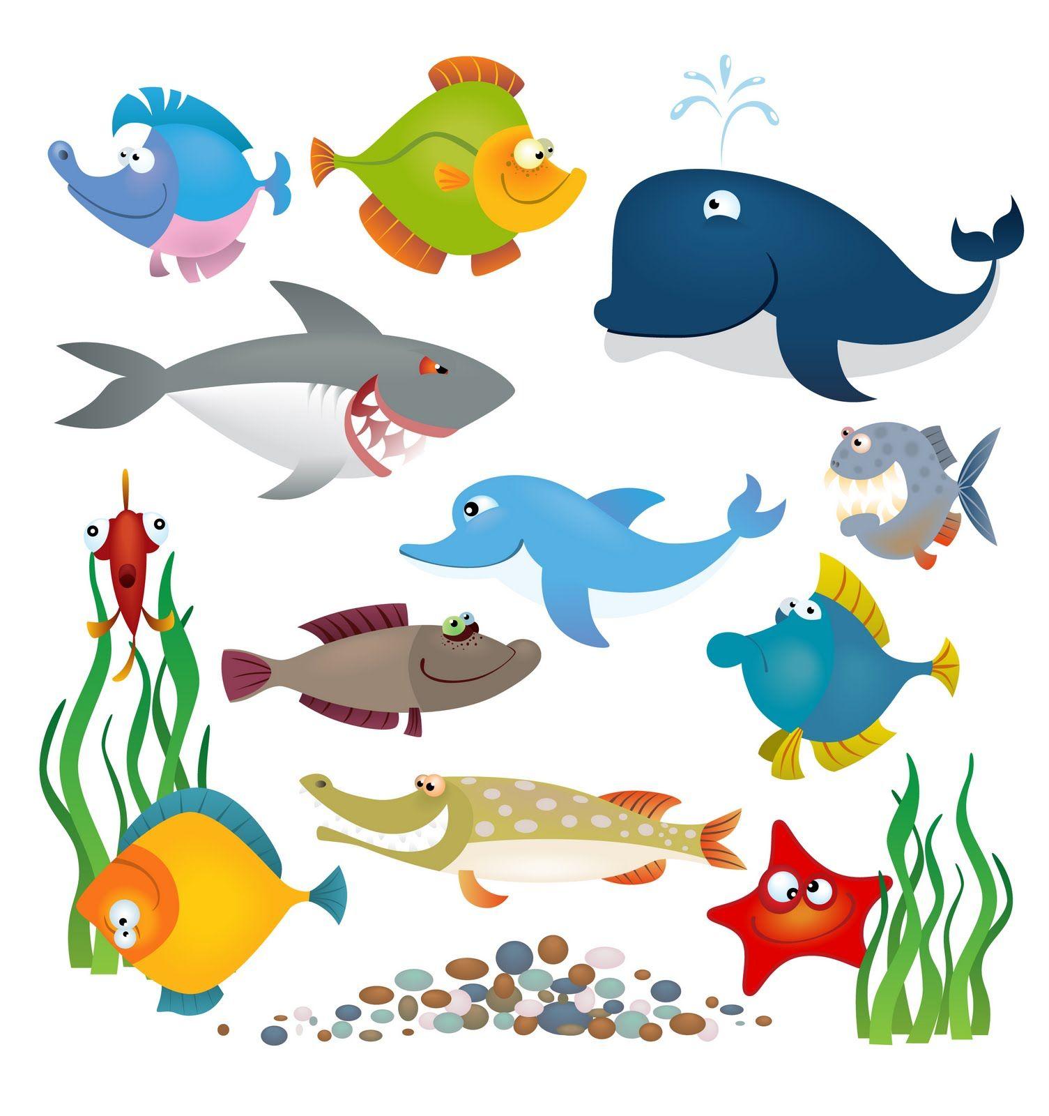 Cute Cartoon Sea Animals Jaddid Hd Wallpapers Backgrounds Images Photos Ocean Animals Cartoon Sea Animals Animal Book