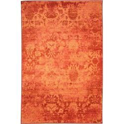 Reduced short pile carpets -  benuta carpet Liguria Orange 200×285 cm – vintage carpet in used look benutabenuta  - #carpets #countrydecor #decorart #decorshop #decorsmallspaces #decorvideos #decoration #gothicdecor #interiordecor #mediterraneandecor #pile #reduced #short