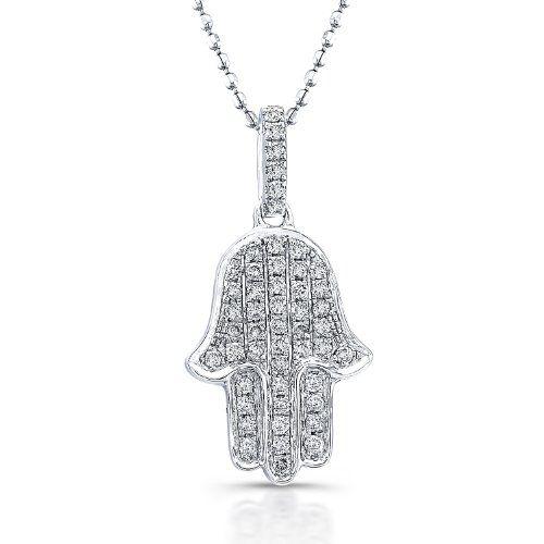 Victoria kay 15ct twt diamond hamsa pendant in sterling silver victoria kay 15ct twt diamond hamsa pendant in sterling silver aloadofball Choice Image