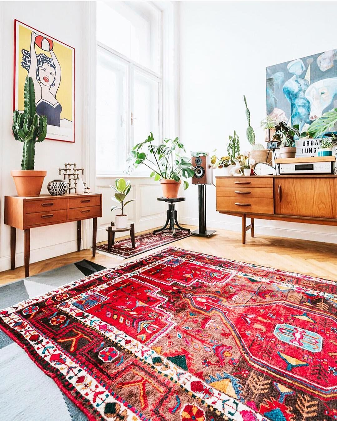 Is this rug too bright? | Home Ideas | Ethnic living room ...