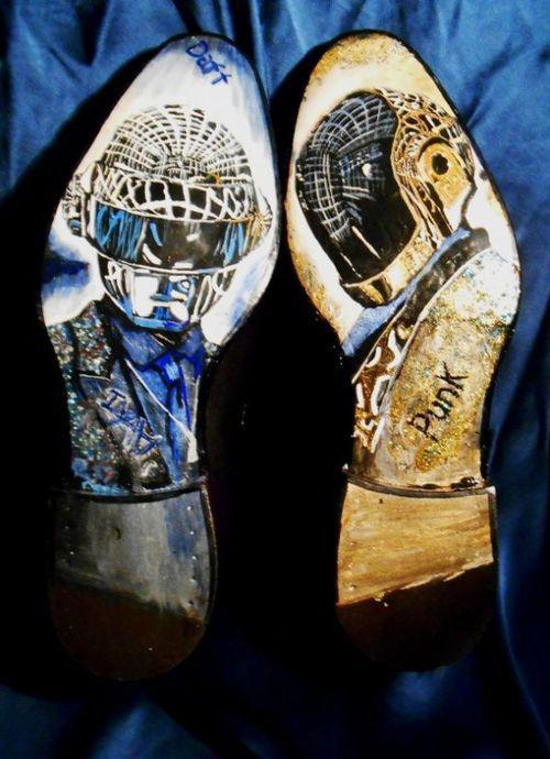 Ivan Crivellaro - Daft Punk Soles