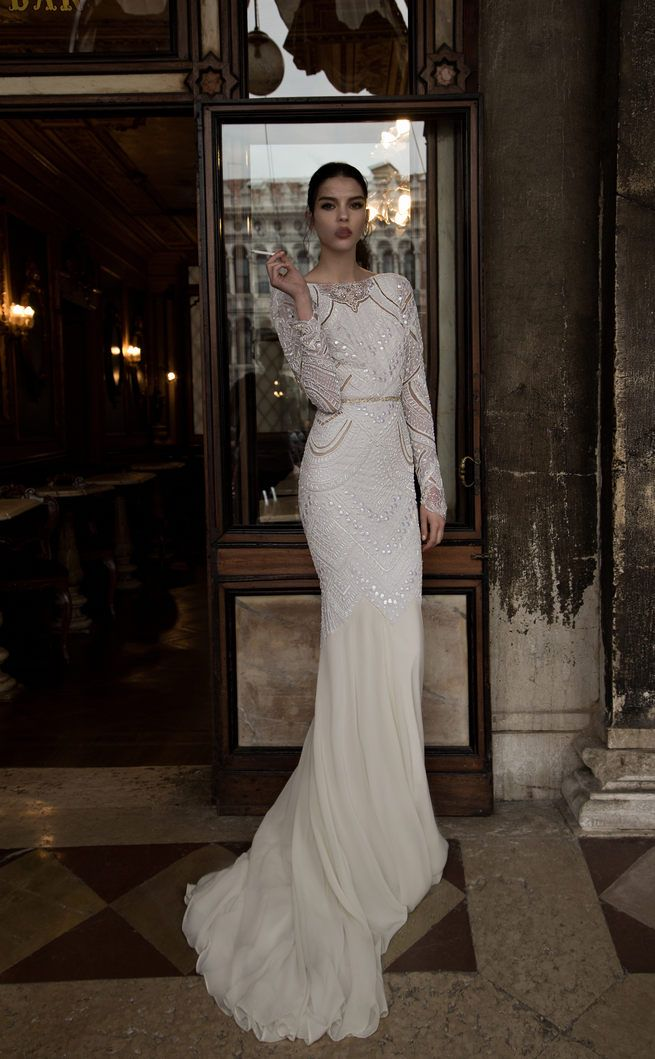 Inbal Dror Long Sleeve Wedding Dresses