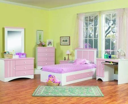 Girls Pink Bedroom Furniture Sets in Dallas,Houston,San Antonio,Fort