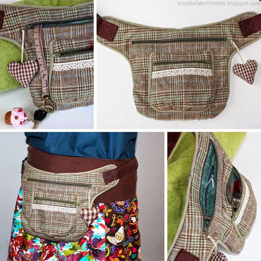 Kreativ oder Primitiv?: Hip Bag Sew Along | bags | Pinterest ...