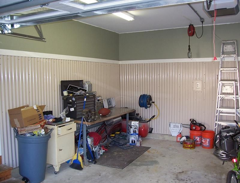 Garage Wall Ideas Finishing Garage Walls Interior Garage Wall