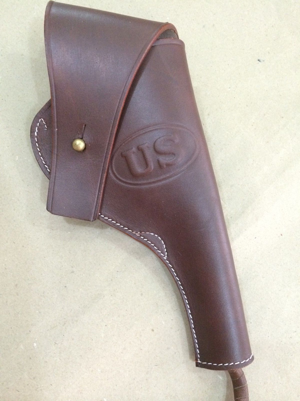 how to make a leather holster for a revolver