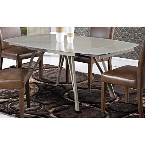 Global Furniture Dining Table Champagne Shiny Matte Dining Table In Kitchen Dining Table Furniture Dining Table