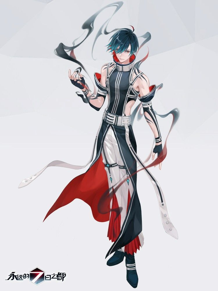 Pin By Someclone On Forever 7th Capital Anime Character Design Handsome Anime Guys Anime Outfits