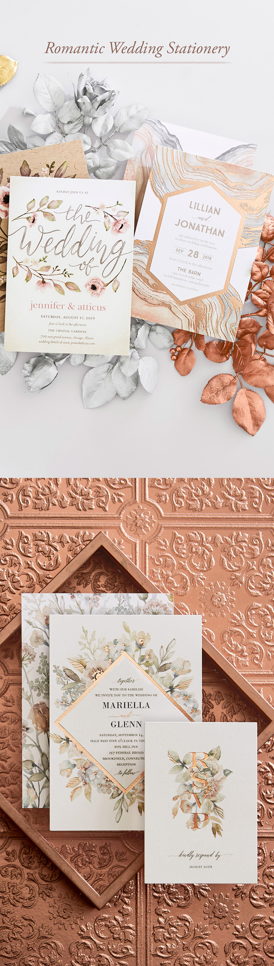 Discover luxe wedding stationery and more at The Wedding