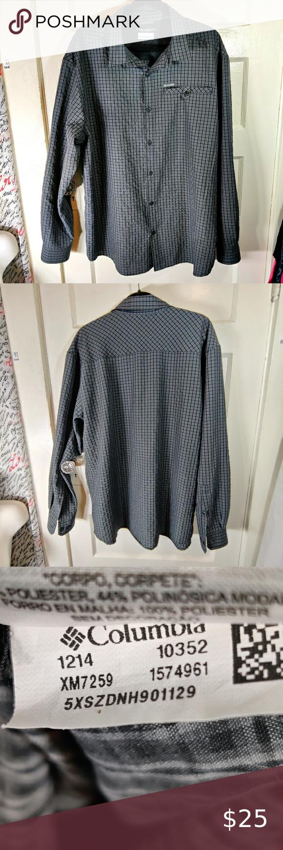 Columbia Shirt OmniShade Sun Protection XL