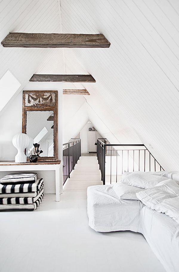 Wohnideen Dachboden wohnen mit industriellem chic 14 loftartige wohnideen treppen