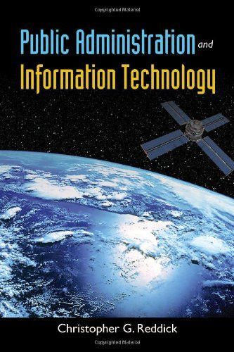 Public Administration And Information Technology Public Administration Information Technology Management Information Systems
