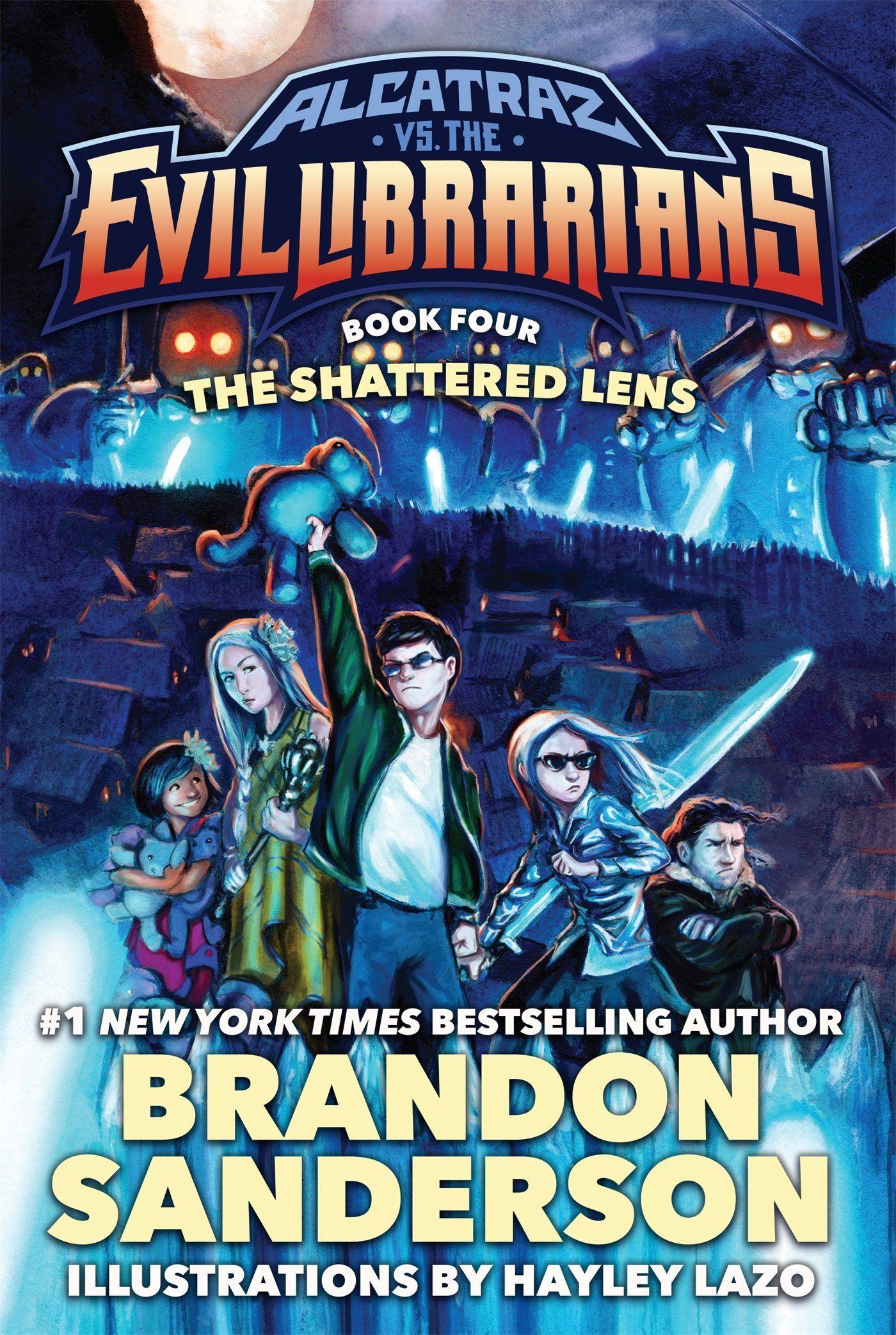 The Shattered Lens: Alcatraz vs The Evil Librarians Book 4