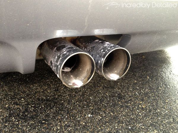 How To Clean Exhaust Tips Like A Pro Incredibly Detailed How To Clean Chrome Cleaning Diy Cleaning Products