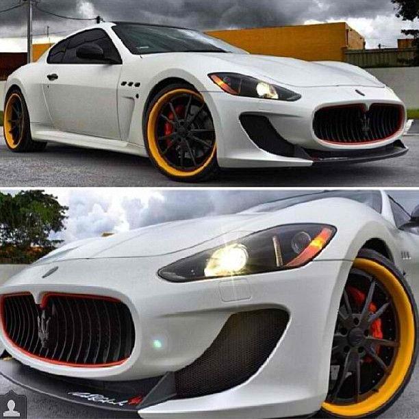Awesome #Maserati Granturismo #fire #cars #perfection #escortradar