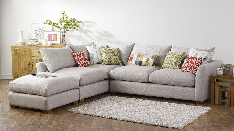 Fabric Corner Sofas | The Metro Range | Corner, Swivel Cuddle Chair,  Footstool
