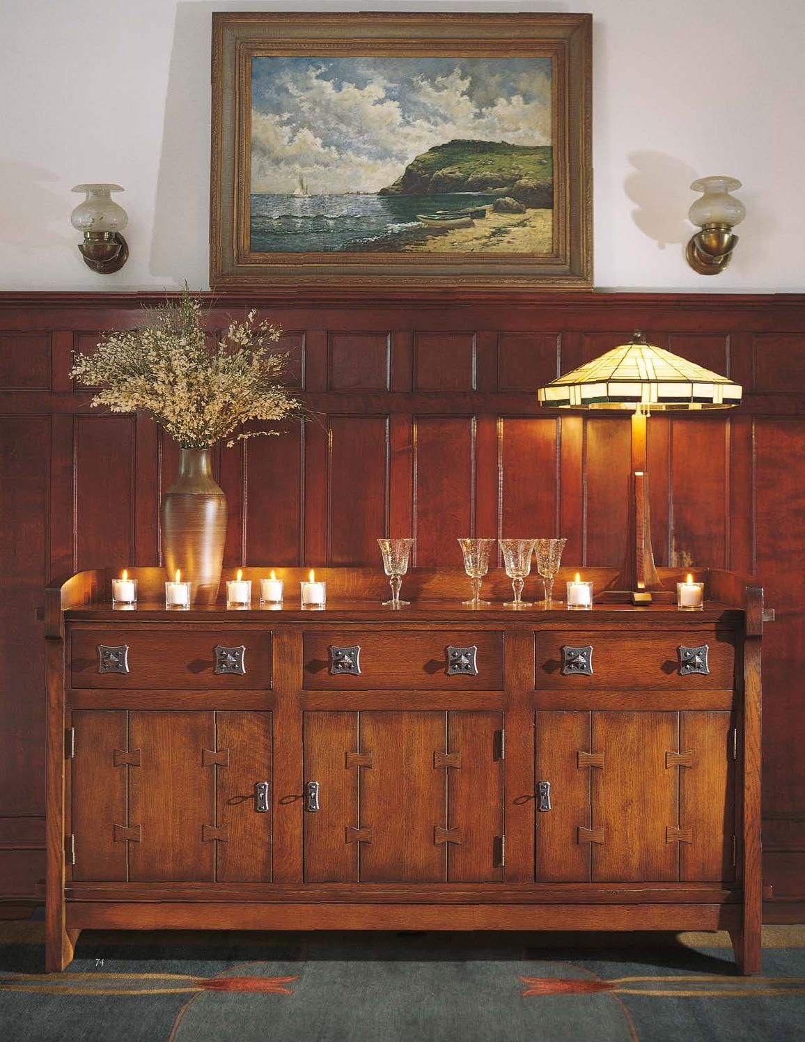 ISSUU Stickley Mission Oak & Cherry Collection by