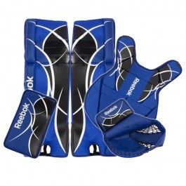 Reebok Revoke Junior Street Hockey Goalie Kit Street Hockey Street Hockey Goalie Pads Goalie