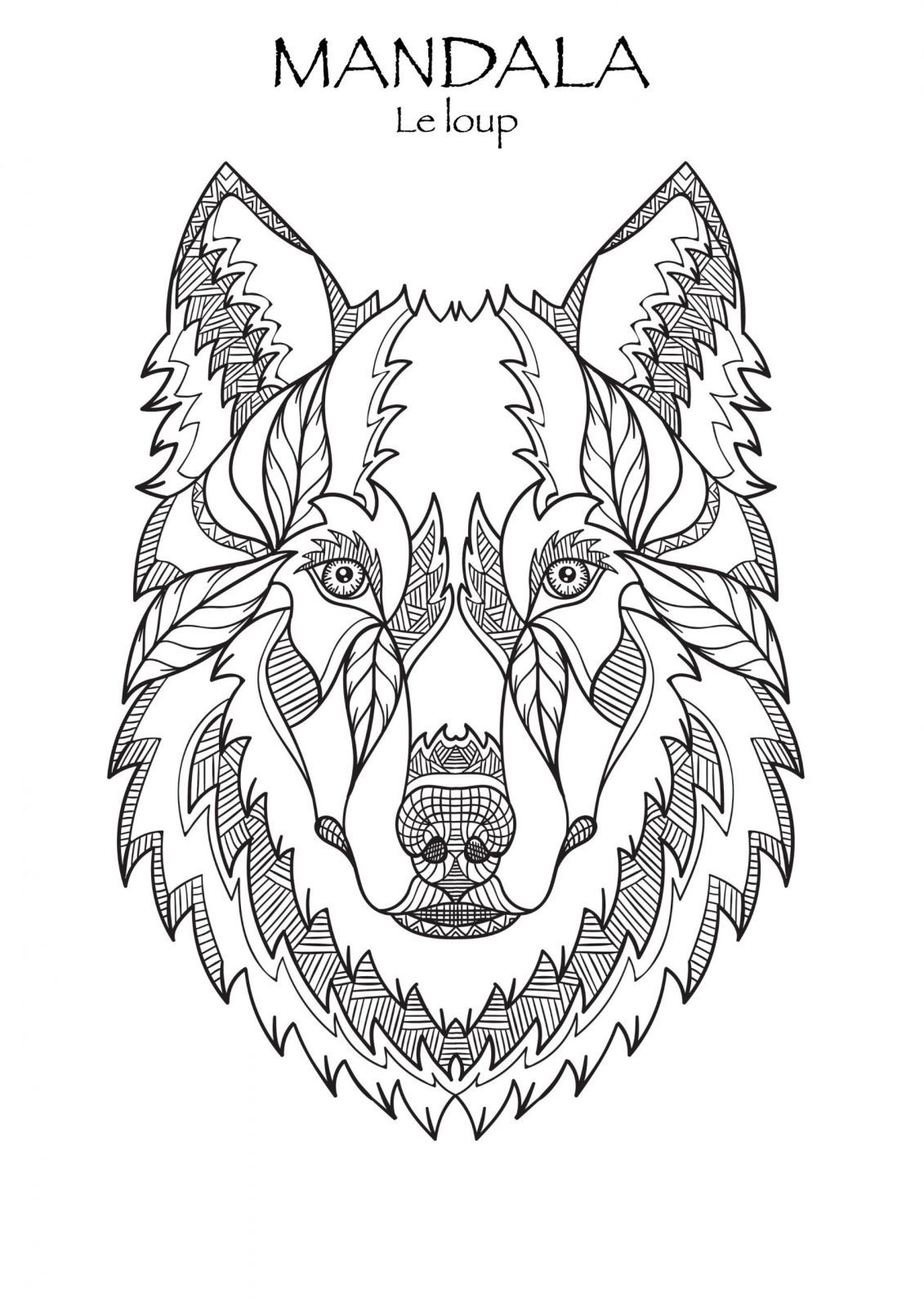Coloriage A Imprimer Mandala Difficile Chien Collection