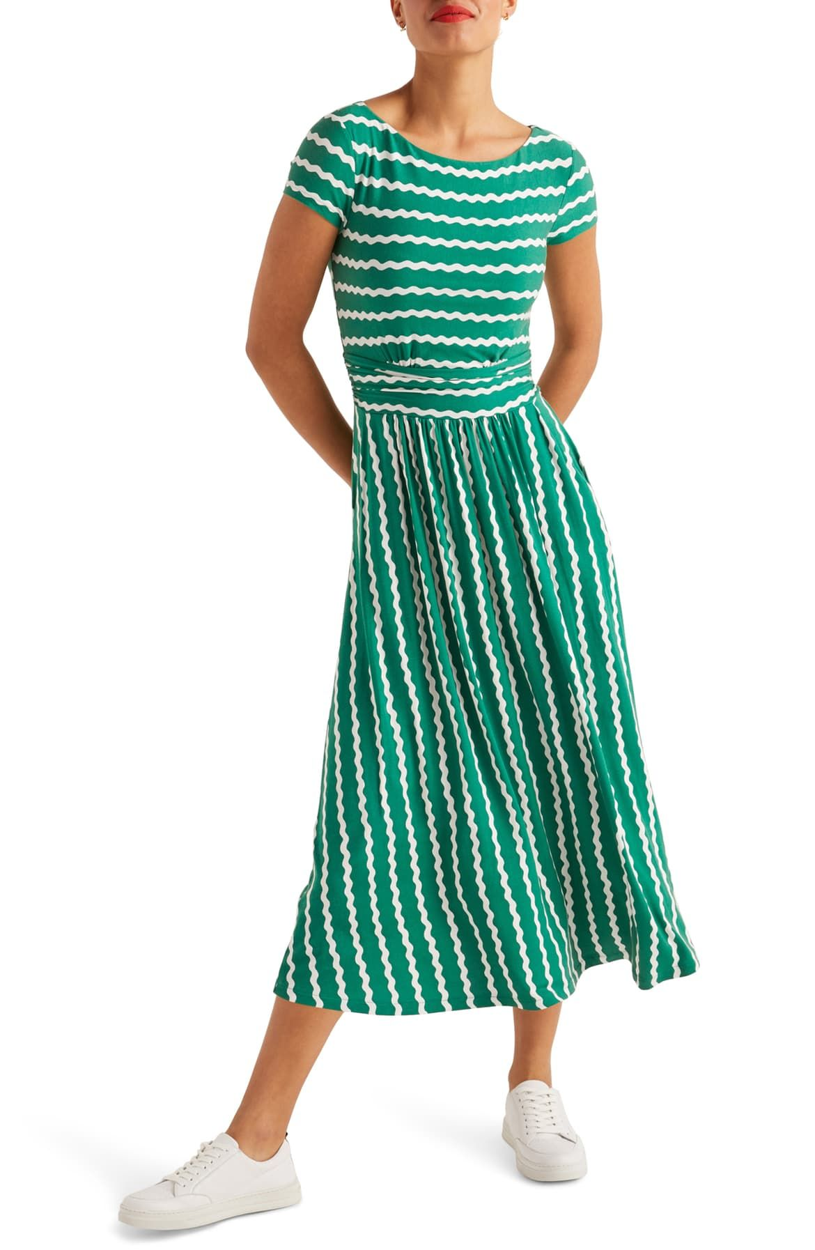 Faye Print Jersey Midi Dress In 2020 Midi Dress Fashion Clothes Women Midi Dress Style [ 1794 x 1170 Pixel ]