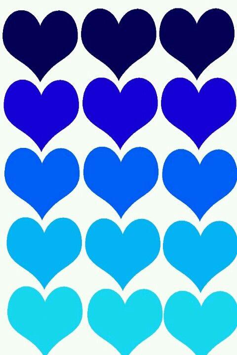 blue hearts wallpaper �αιιpαpεrš �� d239ε ƒ�r