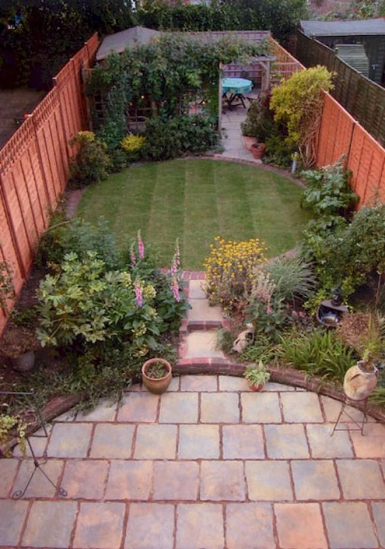 50+ Low Maintenance Small Backyard Garden Inspirations ...