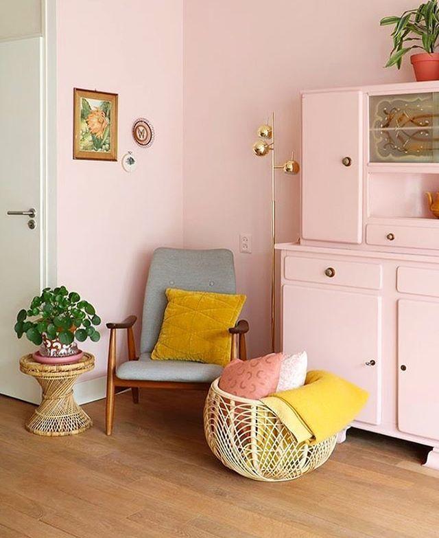 Cutest pink corner ever! #hesbystyle @enter_my_attic   BOHEMIAN ...
