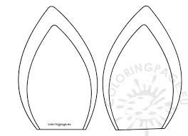 image regarding Unicorn Horn Template Printable named Graphic outcome for unicorn ears template из шаров Unicorn