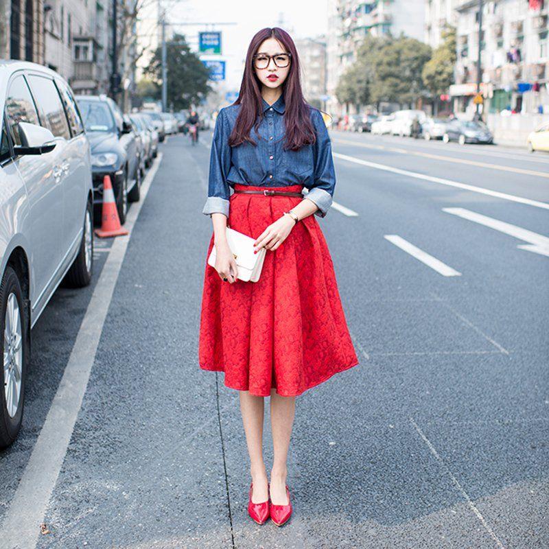 38+ Colores que combinan con el rojo ropa inspirations