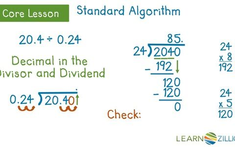 Multiplying Using the Standard Algorithm Students are asked to ...