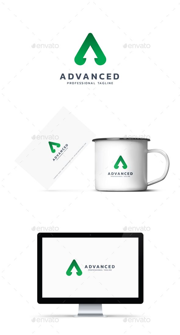Advanced Logo Pinterest Symbol Logo Logo Templates And Logos