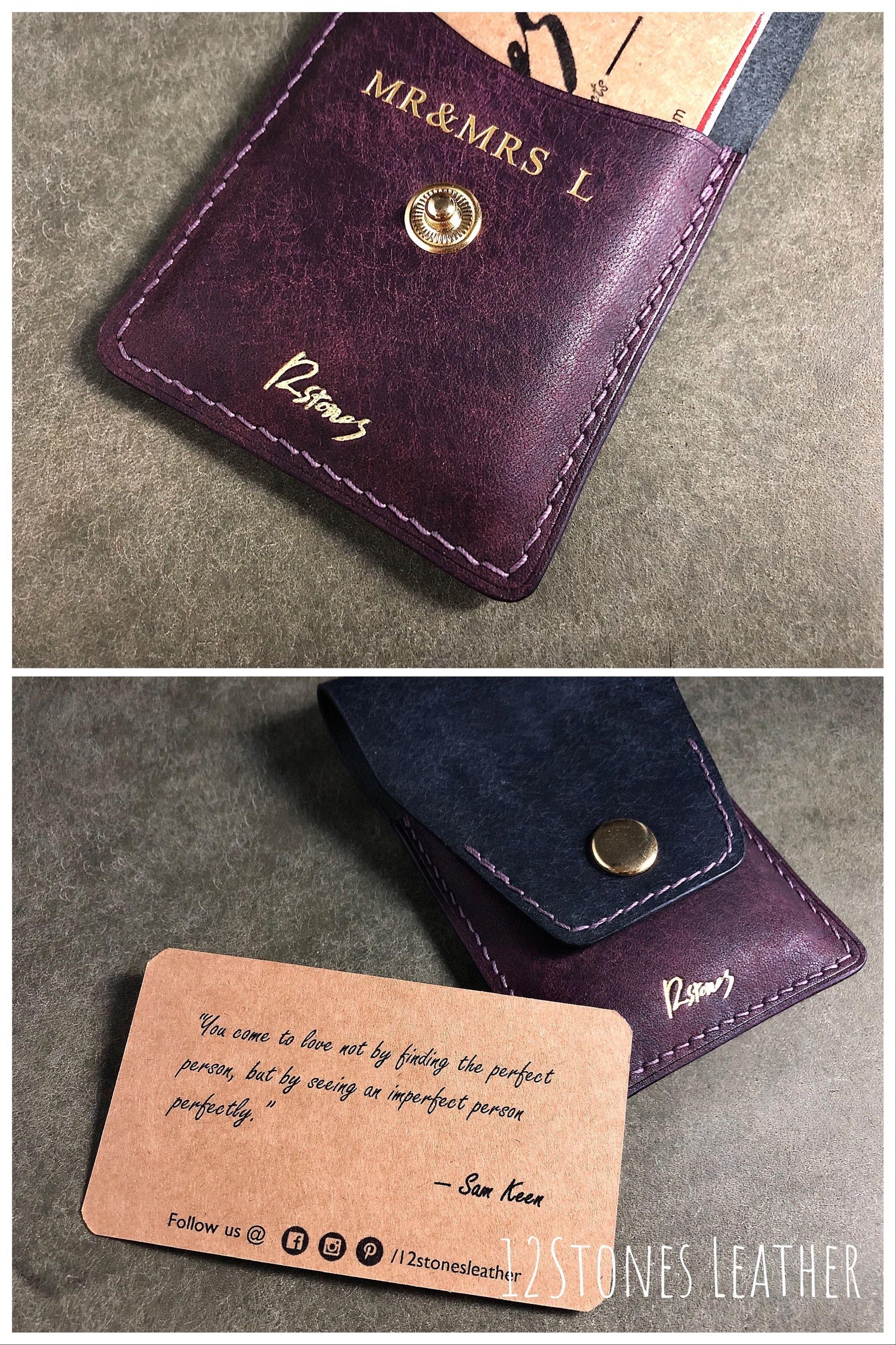 Female Card Holder Ladies Card Holder Custom Leather Card Holder Card Holder Leather Leather Business Card Holder Leather Business Cards