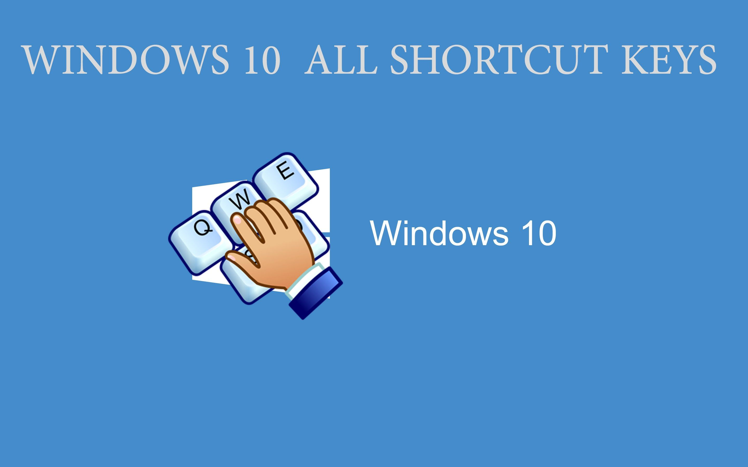 39 Windows 10 Ultimate Shortcuts List Top keyboard