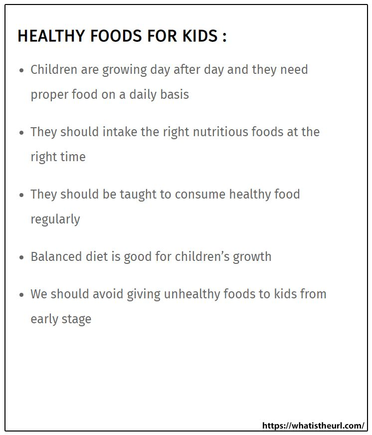 Healthy Foods For Kids In 2020 Healthy Meals For Kids Kids Meals Healthy Food Essay