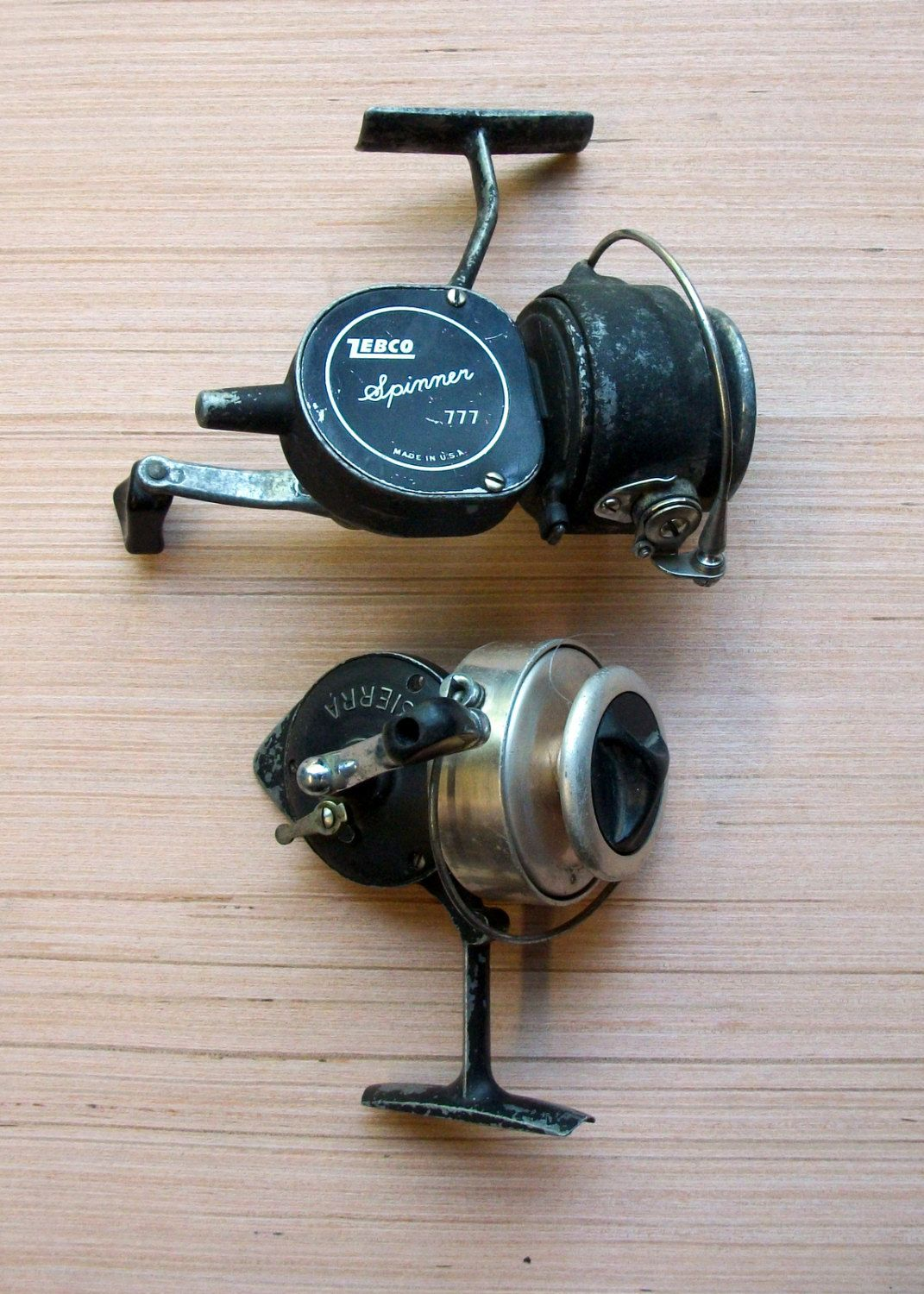Old Fishing Reels Unique Vintage Related Items Etsy