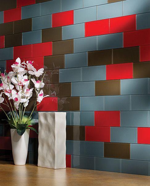 Great Custom Look Using Peel Stick Backsplash Tiles Http Www Menards Com Main Search Html Search A506 Diy Backsplash Glass Tile Backsplash Stick On Tiles