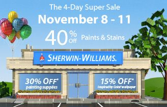 14+ When is the next 40 off sale at sherwin williams information