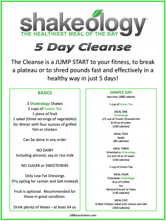 3 Day Cleanse To Jump Start Weight Loss Drawtoday