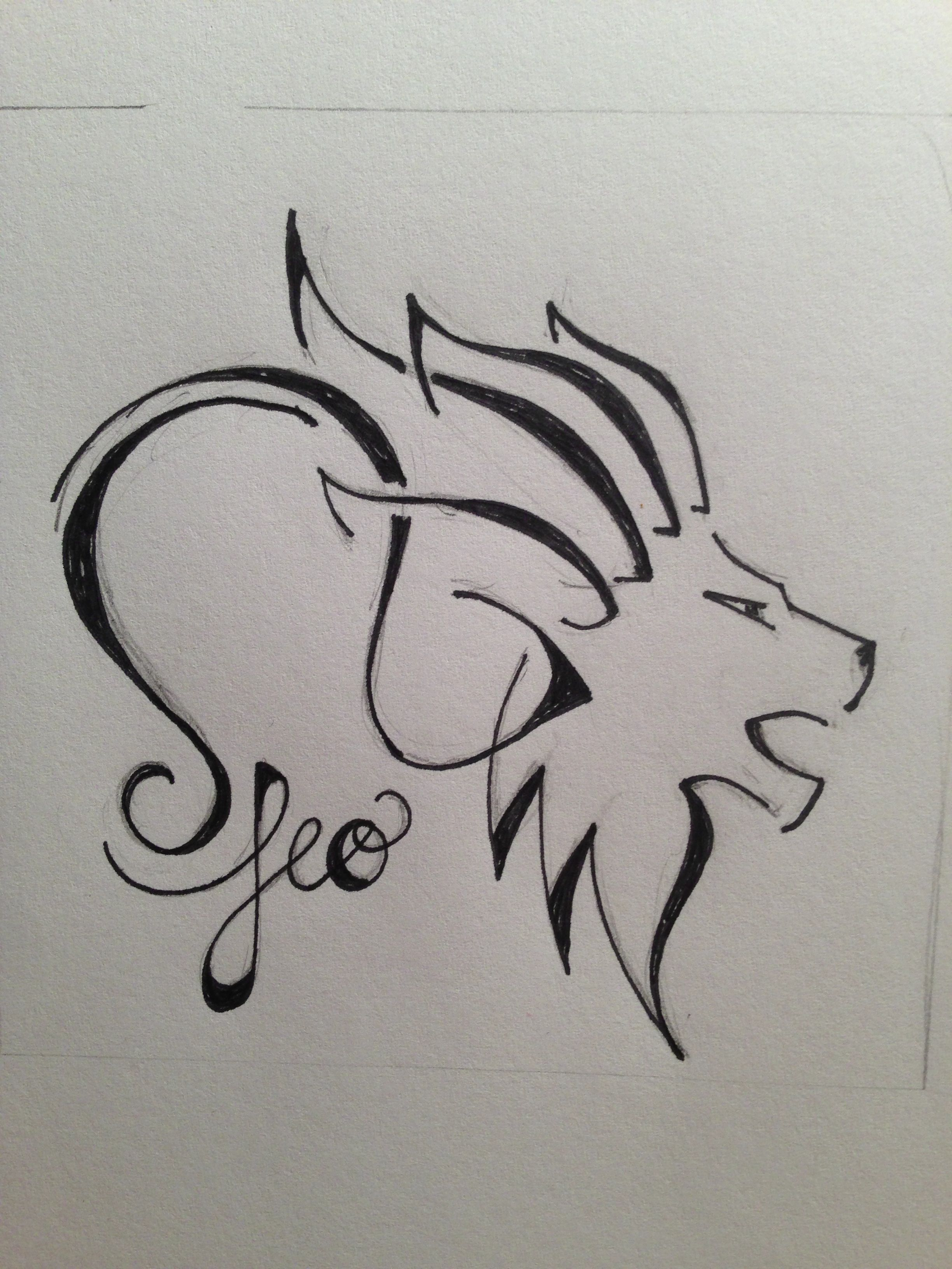 Leo For Zodiac Tattoo Custom Tattoo Designs This Is Amazing