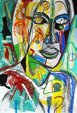 Famous Abstract Art Polish Girl Abstract Art Famous