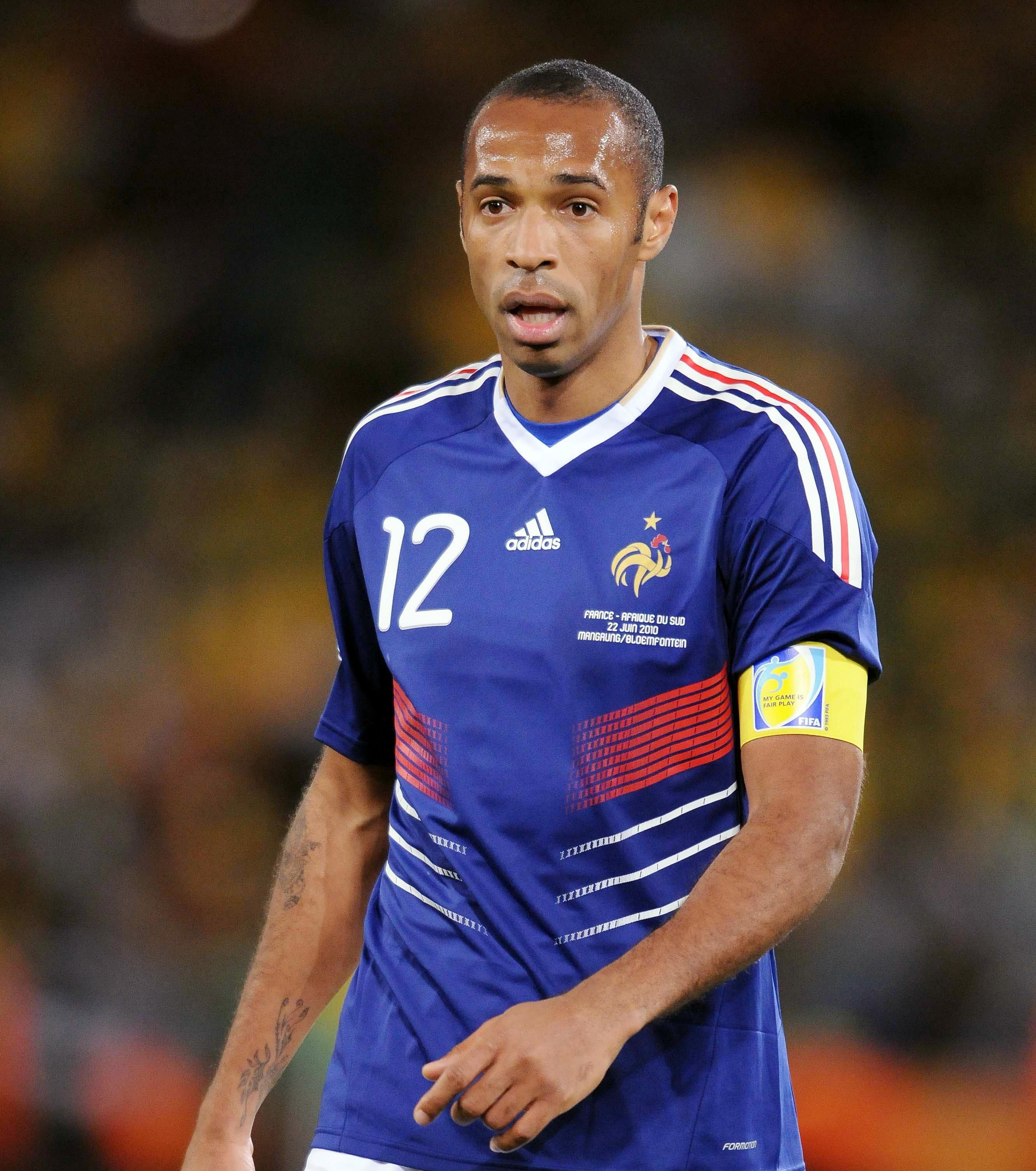 Henry 9ine Thierry Henry Pinterest