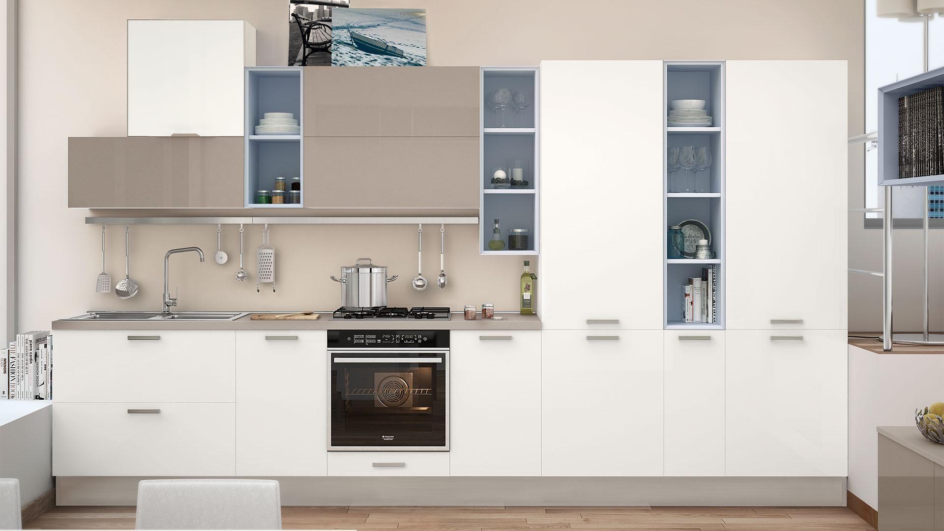 Noemi - Cucine Moderne - Cucine Lube | Progettazione di una cucina ...